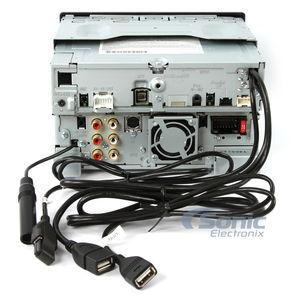 Kenwood DNN991HD GPS Car Stereo w WiFi, App Mode, MHL