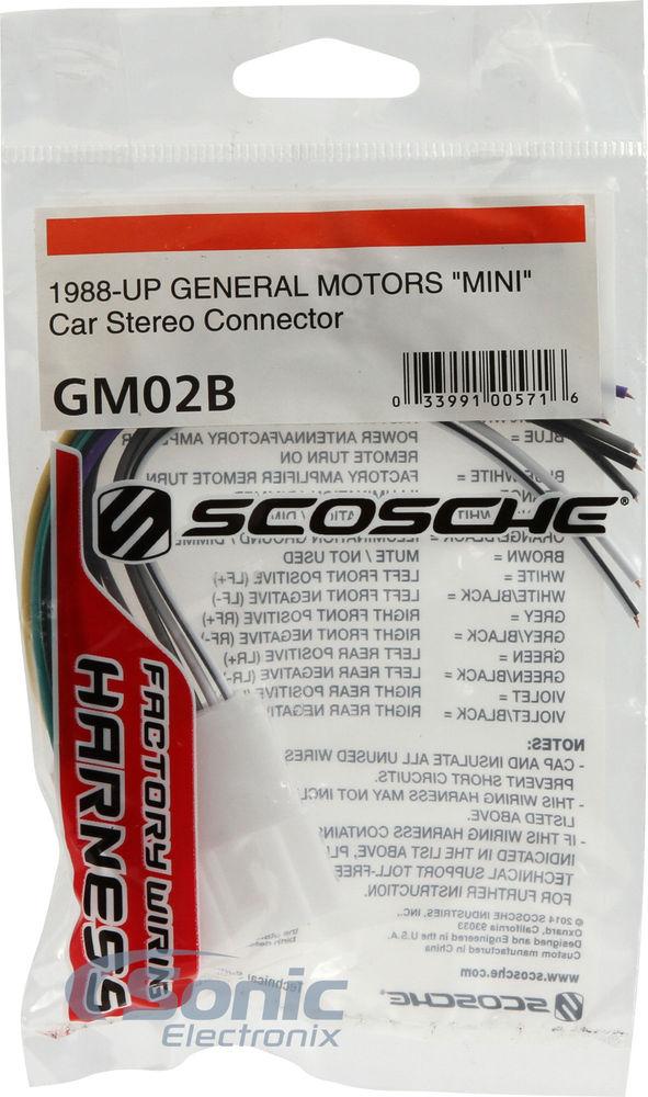 scosche wiring harness for gm gem battery wiring diagram