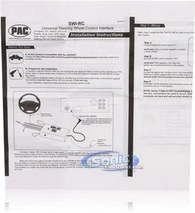 PAC SWIRC Steering Wheel Control Interface  Sonic Electronix