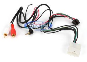 Metra 708114 Toyota Steering Wheel Control Wire Harness w RCA