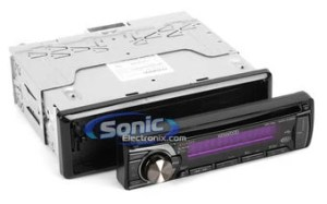 Kenwood KDCX395 (KDCX395) CD Receiver w LCD Display & SAT Ready