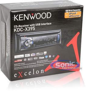 Refurbished  Refurbished Kenwood KDCX395 (KDCX395) CD Receiver w LCD Display & SAT Ready