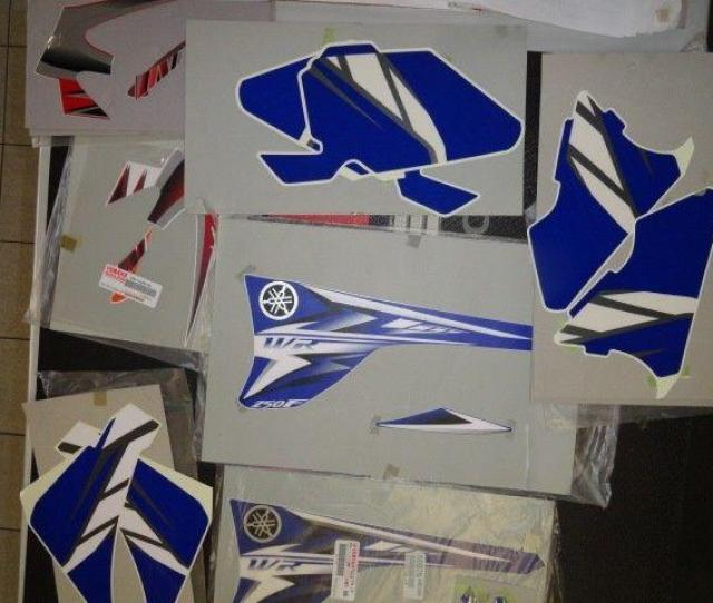 Yamaha Yz And Wr Original Graphics Clearance Special