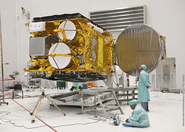 India's GSAT-10 satellite continues its checkout for the ...
