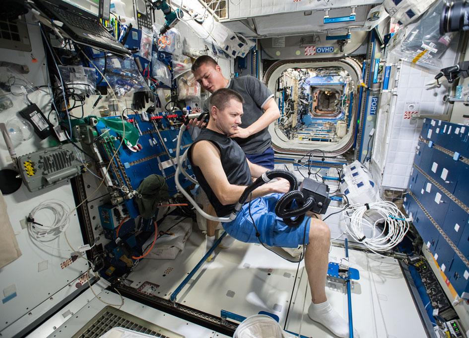 Image result for inside international space station