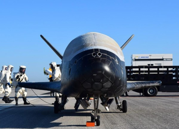 X37B Orbital Test Vehicle4 Lands SpaceRef