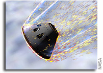 NASA Selects Material for Orion Spacecraft Heat Shield