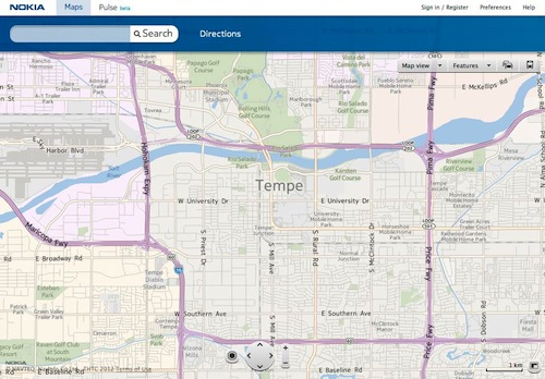Nokia Maps Unified