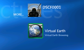 Virtual Earth on Microsoft MCE