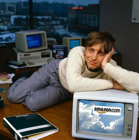 Mr. Gates saw the value of the cloud early on