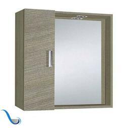 Una selezione di applique e lampade per lo specchio. Specchio Bagno 1 Anta E Faretto Led Savini