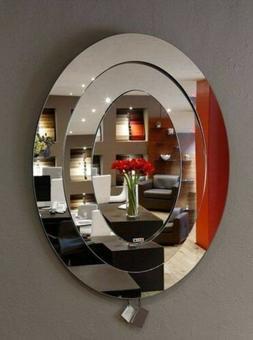 Trittico moderno bianco como comodini specchio. Specchio Ingresso Moderno Design Specchi