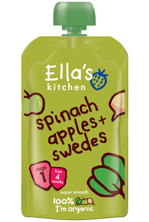 Ella Kitchen Spinach Apples Swede