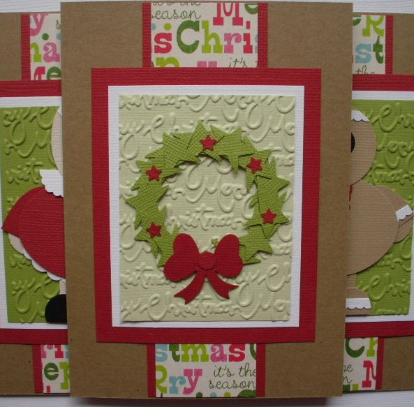 Christmas Wreath Punch Art By Hopepackages At