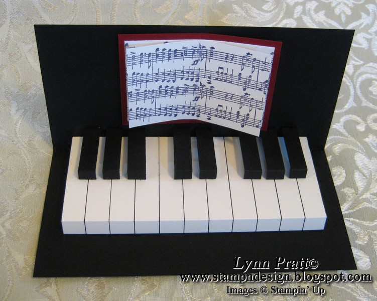 Piano Card By Lpratt At Splitcoaststampers