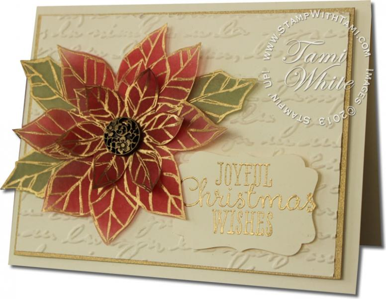Joyful Christmas WOW Card Amp Video By Thetamster At Splitcoaststampers