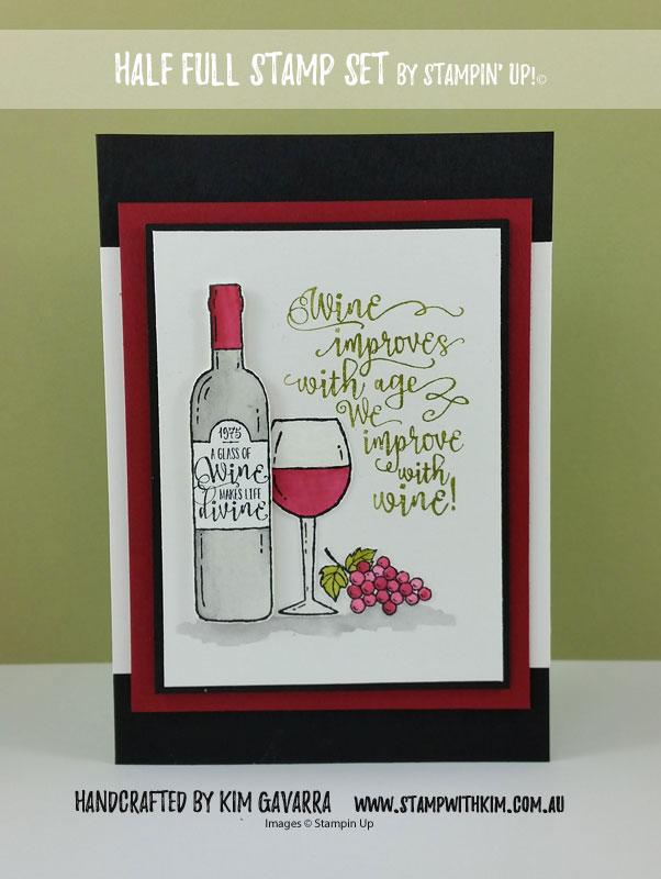 Glass Of Wine Divine By Kim021 At Splitcoaststampers