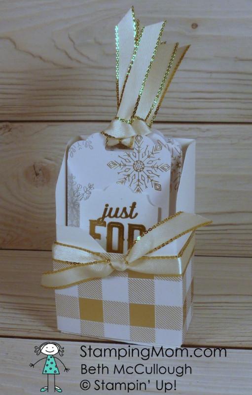 Year Of Cheer Christmas Tag Box By Bethmcc At