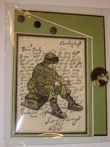 Godspeed Soldier By Cards By America At Splitcoaststampers