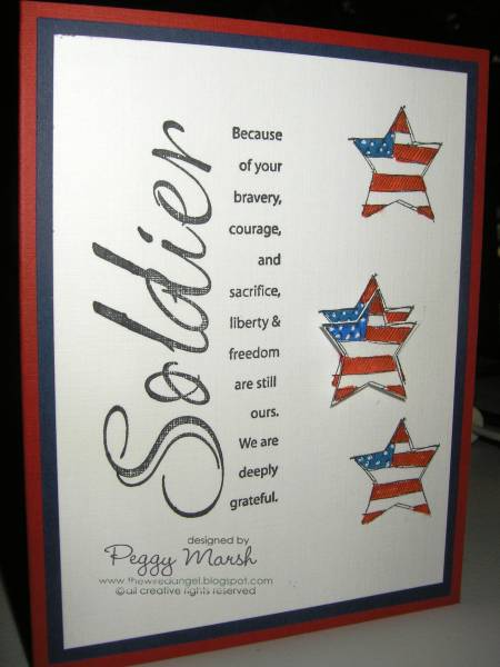 Thank You Soldier By PMarsh5 At Splitcoaststampers