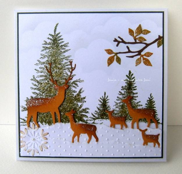 Winter Wonderland By Janja At Splitcoaststampers
