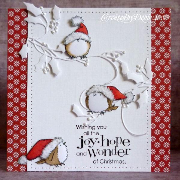 Christmas Birds By Debby4000 At Splitcoaststampers