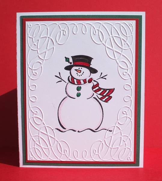 Frosty The Snowman By Ladybug91743 At Splitcoaststampers