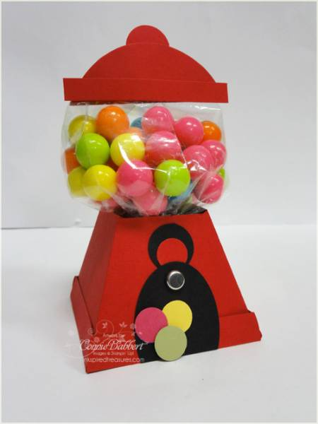 Gumball Machine Petal Cone Stand By Iluvstamping13 At