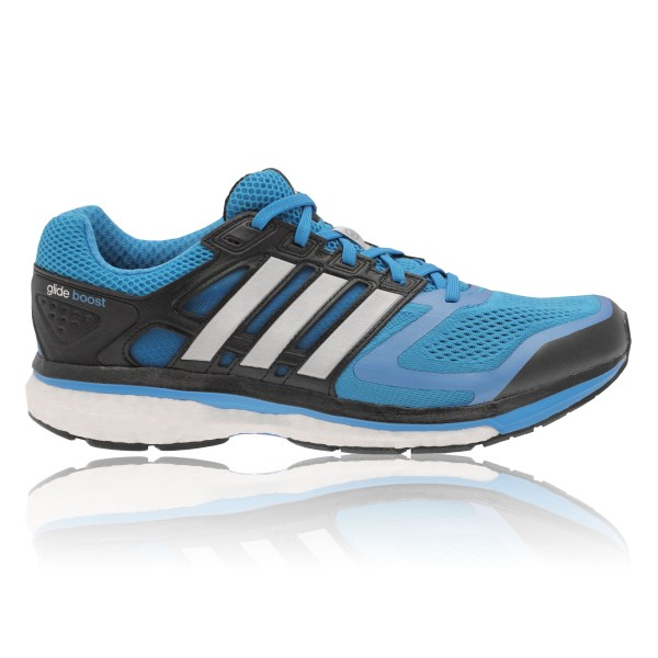 Adidas Supernova Glide 6 Boost Mens Blue Sneakers Running ...