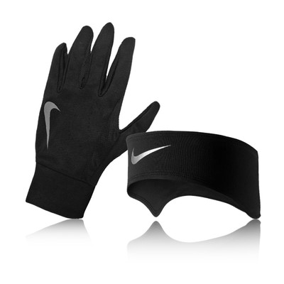 Nike Lady Dri-Fit Glove and Headband Running Set picture 1
