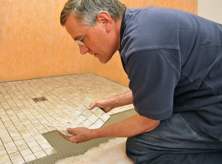 installing mosaic tile hometips