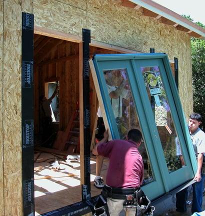 how to install a patio door hometips