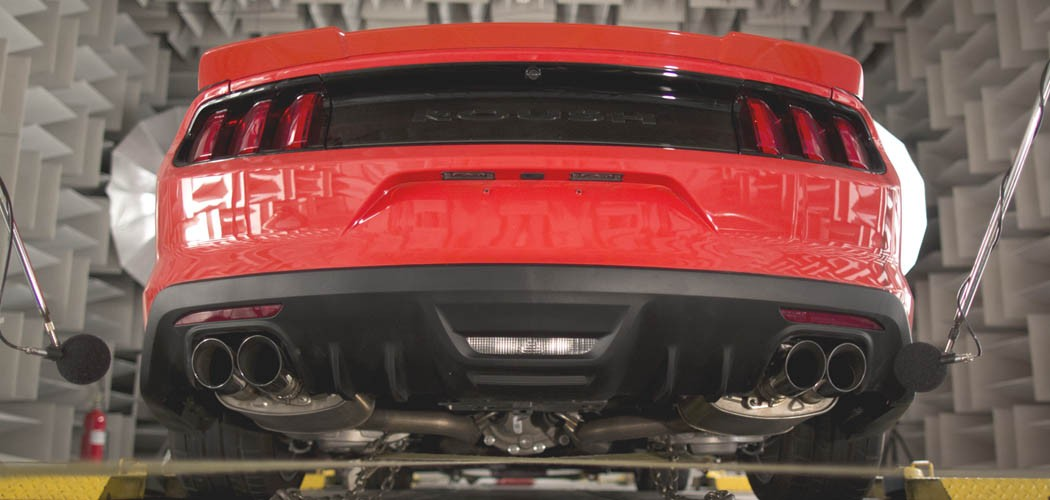 roush active exhaust customized tuning