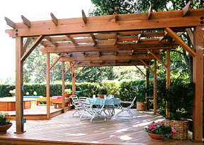 wood for patio roofs gazebos hometips