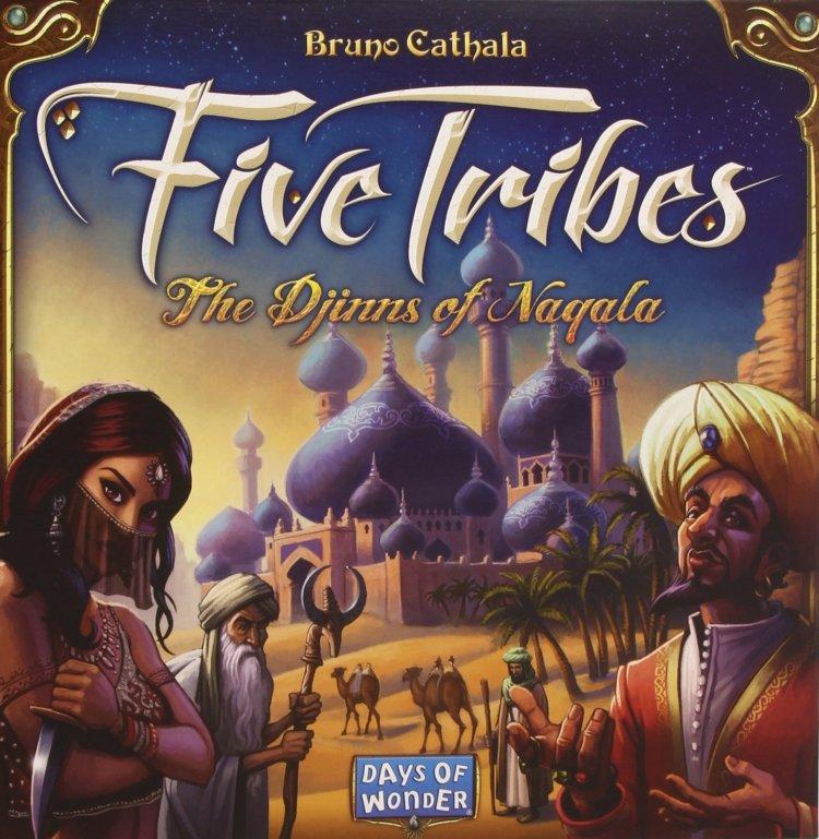 Top juegos de mesa 2014 - Five tribes