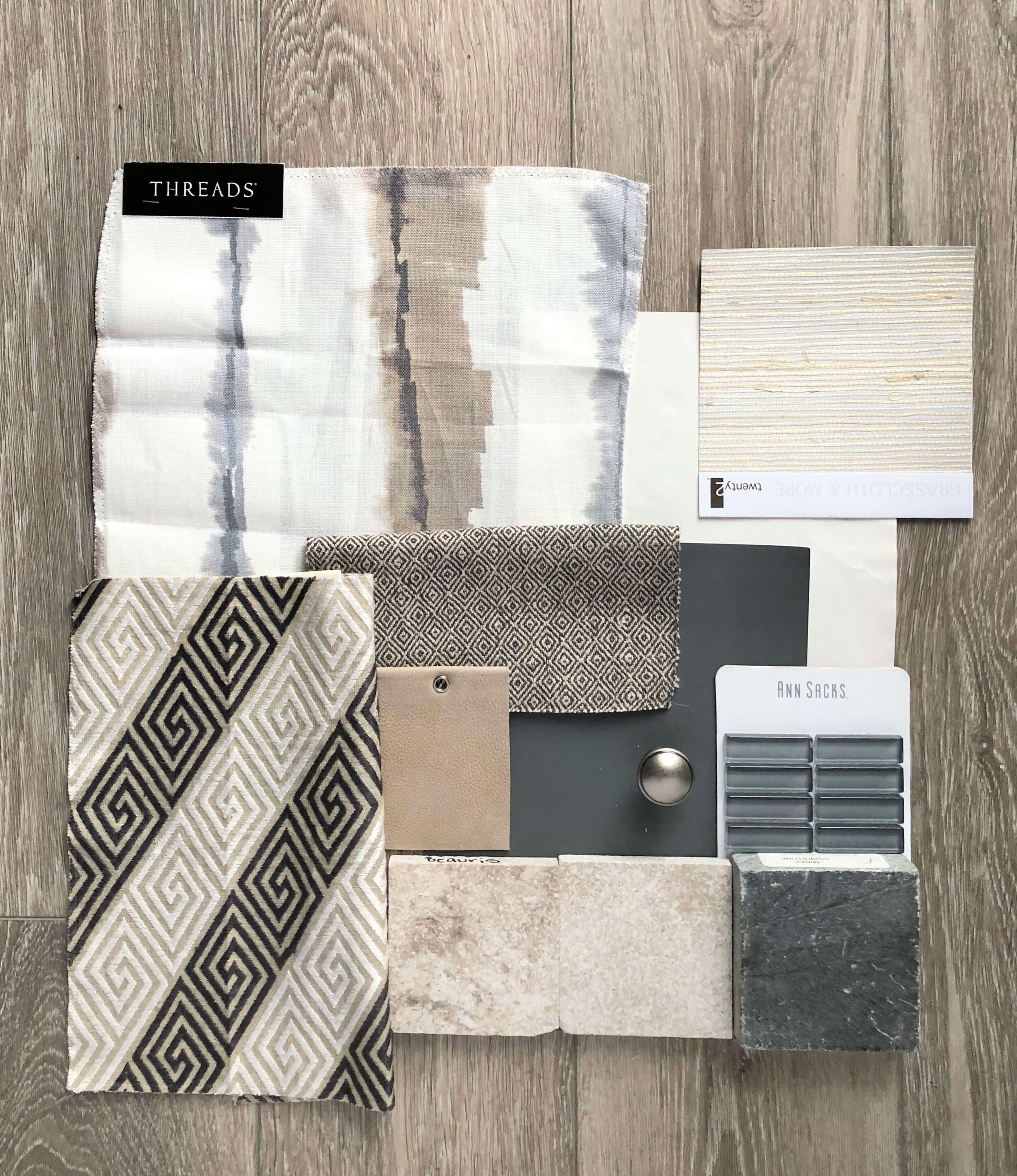 go gray when your entire house is beige