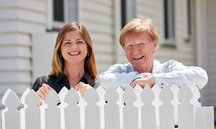 Julia Zemiro with guest Kerry O'Brien  image - supplied/ABCTV
