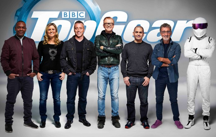 The all new lineup for Top Gear  image - supplied/BBCWorldwideANZ