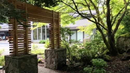 landscape screens garden structures