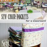Sew Chair Pockets For A Classroom The Fast Easy Way Sewcanshe Free Sewing Patterns And Tutorials