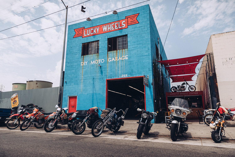 lucky wheels garage michael amico