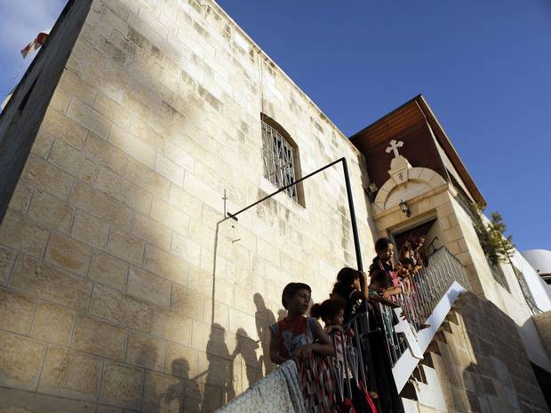 St. Porphyrius Orthodox Church, Gaza. Photo credit:  The Independent