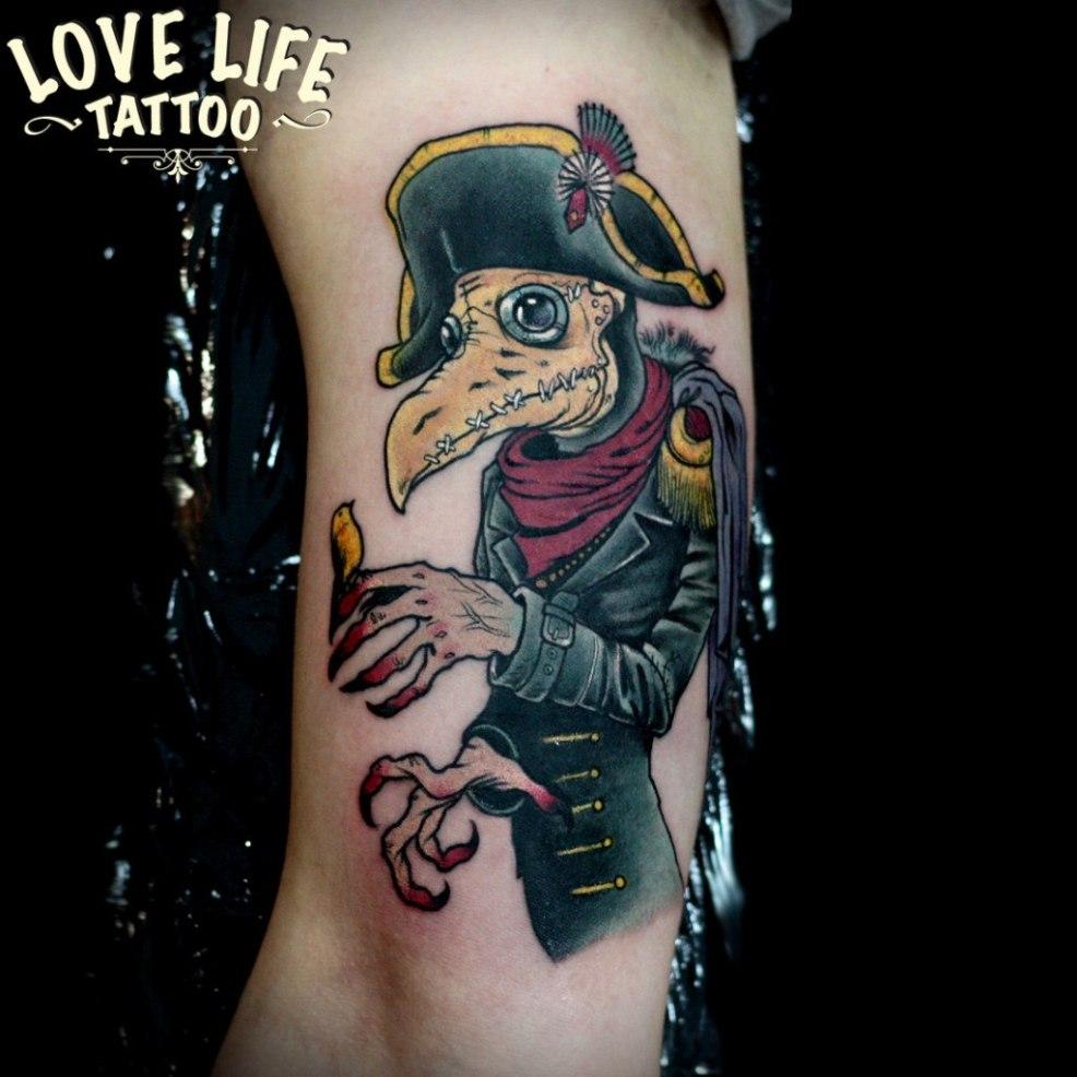 реалистичная татуировка главная тату салон в москве Love Life