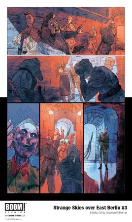 Image result for strange skies over east berlin #3 boom studios""