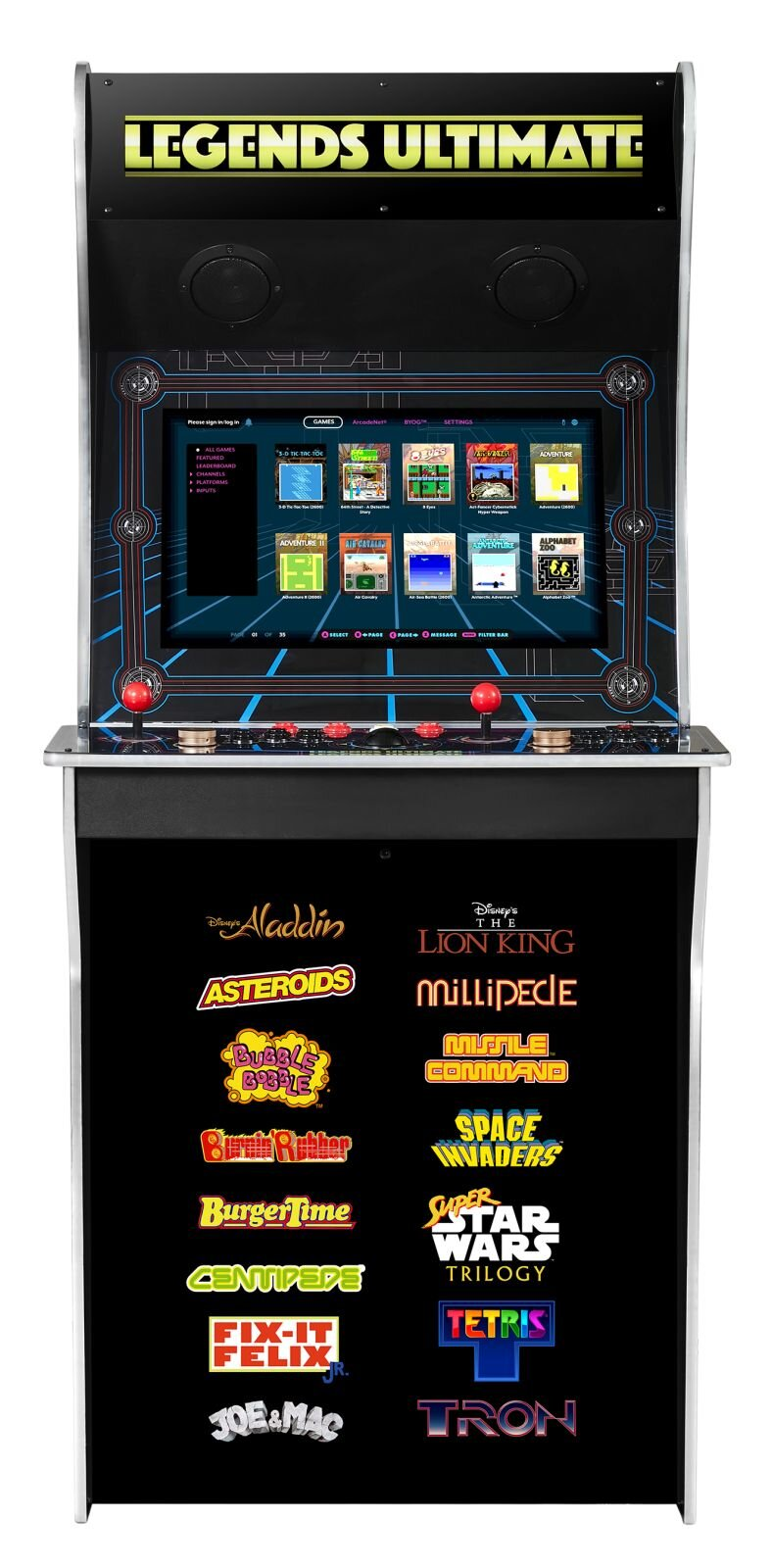 Legends Ultimate full size cabinet front view.jpg