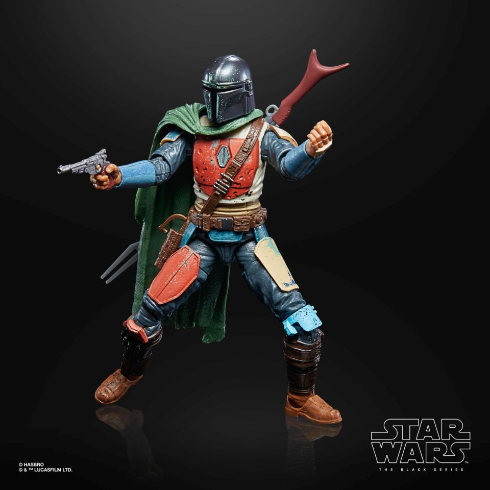 STAR WARS THE BLACK SERIES CREDIT COLLECTION 6-INCH THE MANDALORIAN Figure - oop 4.jpg