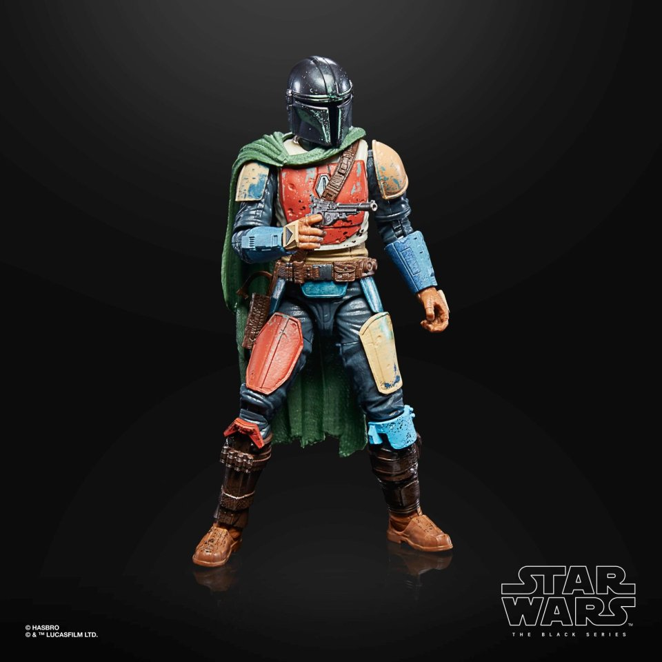 STAR WARS THE BLACK SERIES CREDIT COLLECTION 6-INCH THE MANDALORIAN Figure - oop 5.jpg