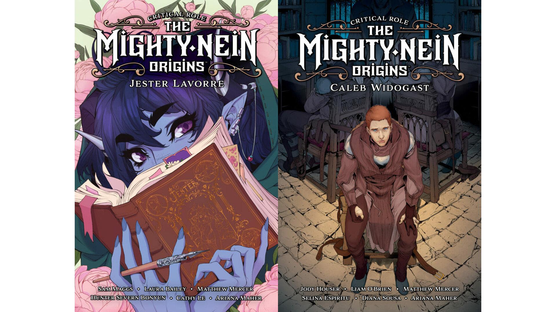 comics mighty nein origins