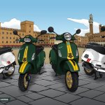 2021 Vespa Racing Sixties Af1 Racing