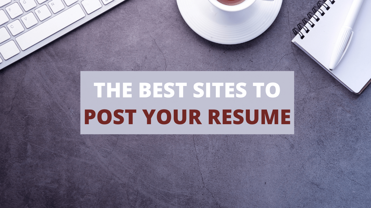 02/09/2021· the 10 best job search websites of 2021 best overall: 10 Best Sites To Post Your Resume Online In 2021 Careercloud